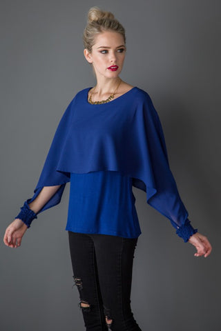 Poncho Style Top - Superior Boutique