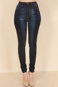 Color Block Skinny Jean