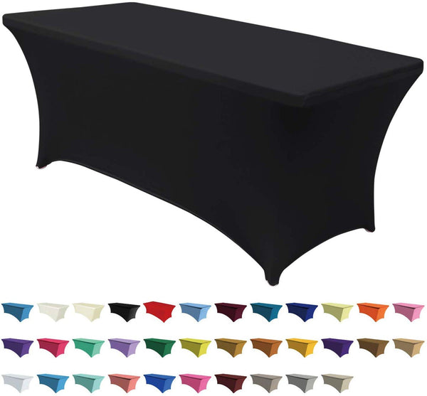 Custom 6ft. Bling Fitted Tablecloth (Spandex) - Superior Boutique