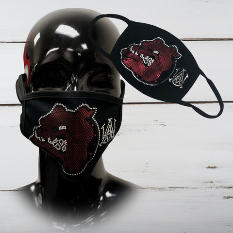 A&M Bulldog Matte Finish Face Mask (Men)