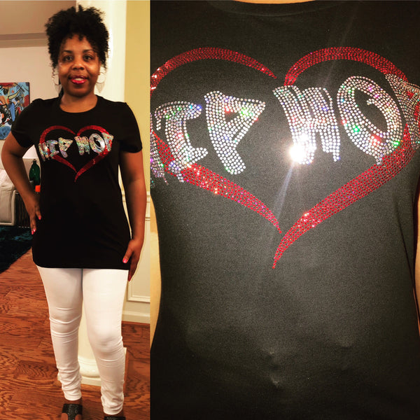 HIP HOP Love Bling Shirt - Superior Boutique