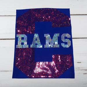 "Carver Rams ""C"" Bling Shirt - Superior Boutique"