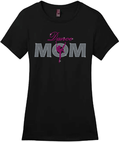 Dance Mom Bling Short Sleeve Style Shirts