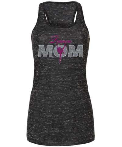 Dance Mom Bling Flowy Racerback Tank