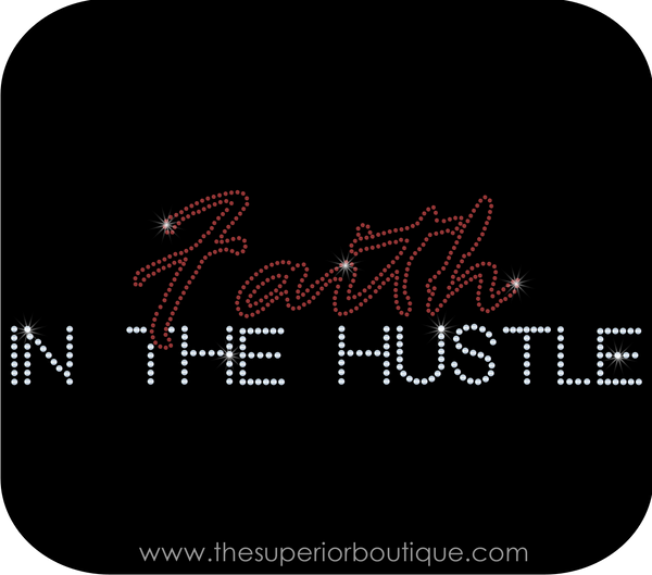 Faith In The Hustle Bling Short Sleeve Style Shirts