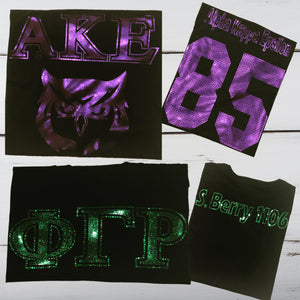High School Fraternity/Sorority Bling Shirt - Superior Boutique