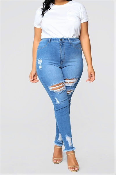 Simply Perfect Distressed Jeans