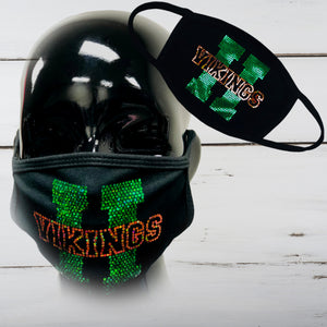 Huffman Alumni Bling Face Mask - Superior Boutique