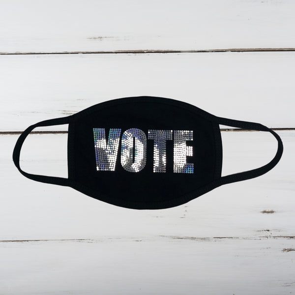 VOTE Bling Face Mask