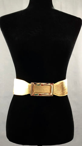Ready For Anything Elastic Belt - Gold