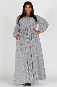 Stripe Me Down Shirt Dress