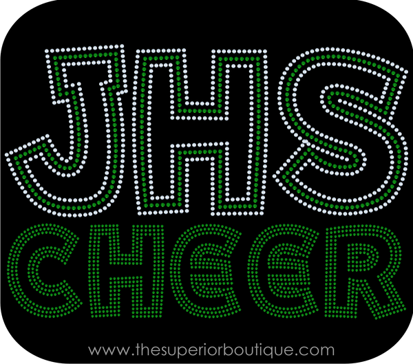 Cheer (Team/School) Bling Short Sleeve Style Shirts