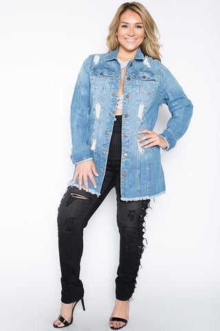 Heavy Destruction Denim Jacket