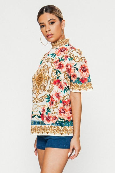 Secret Garden Top - Superior Boutique