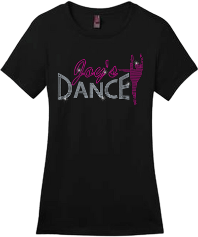 Dance Studio Bling Short Sleeve Style Shirts
