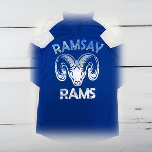 Ramsay Rams Bling Ladies Cutter Jersey