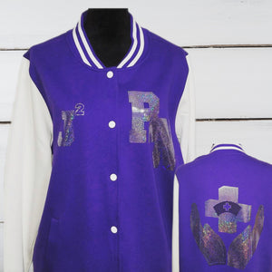 RN - Ladies Fleece Letterman Bling Jacket - Superior Boutique