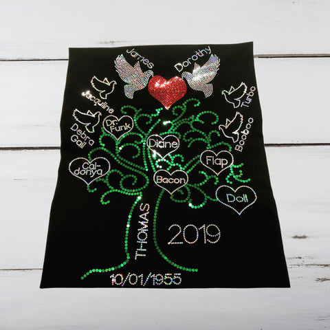 Family Tree Bling Shirt - Superior Boutique