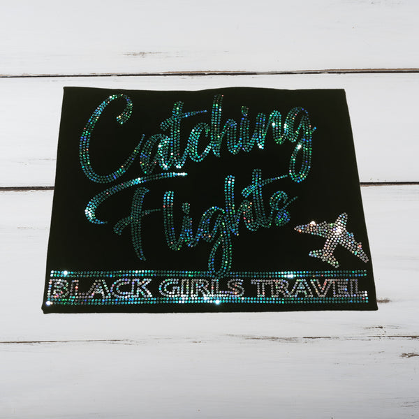 Catching Flights Bling Shirt - Superior Boutique