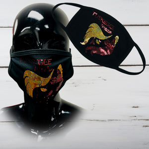 Tuskegee Made Bling Face Mask - Superior Boutique