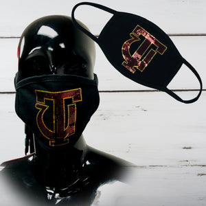 Tuskegee Bling Face Mask