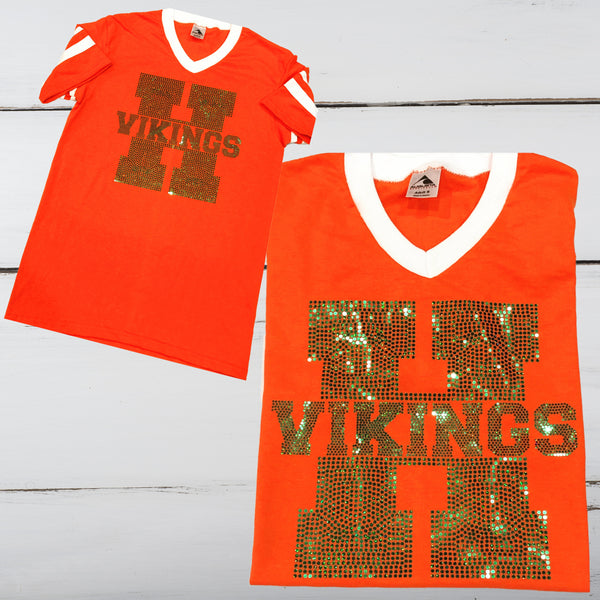 Huffman Vikings Bling Unisex Jersey Shirt - Superior Boutique
