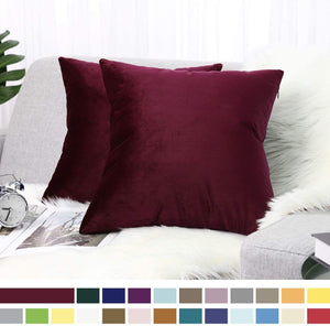 Afro Chic Velvet Bling Pillow Cover 18x18 - Superior Boutique