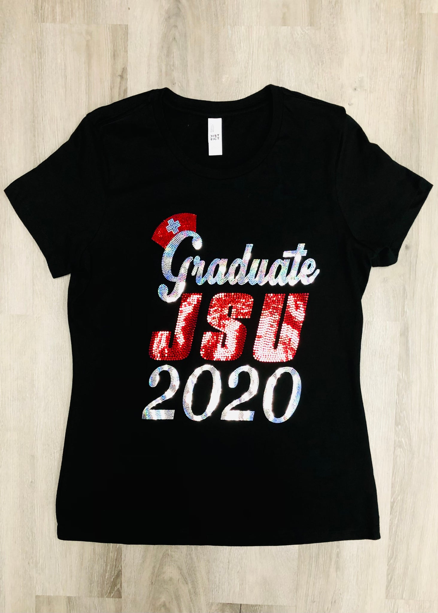 Nursing Graduate 2020 Bling Shirt