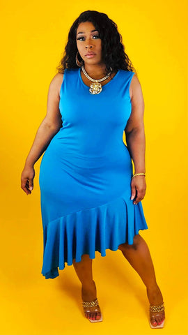 She Is BLUE Dress