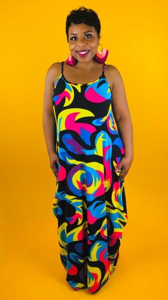 Swirls Maxi Dress