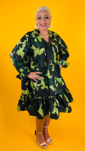 Sistah Tunic Dress - CAMO