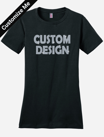 Custom Bling Tee Shirt