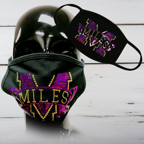 Miles Bling Face Mask - Superior Boutique