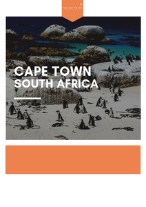 The Cape Town City Guide