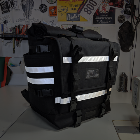 Hauler Add-On: Sew On 3M Reflective Stripes