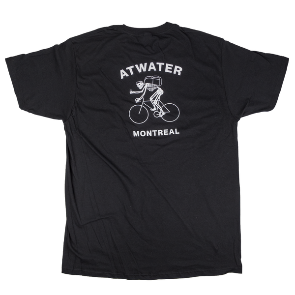 MONTRÉAL SKELETON COURIER T-SHIRT (SMALL)