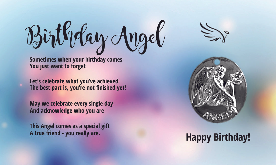 Birthday Angel For Your Pocket