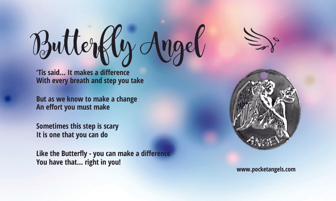 Butterfly Angel For Your Pocket