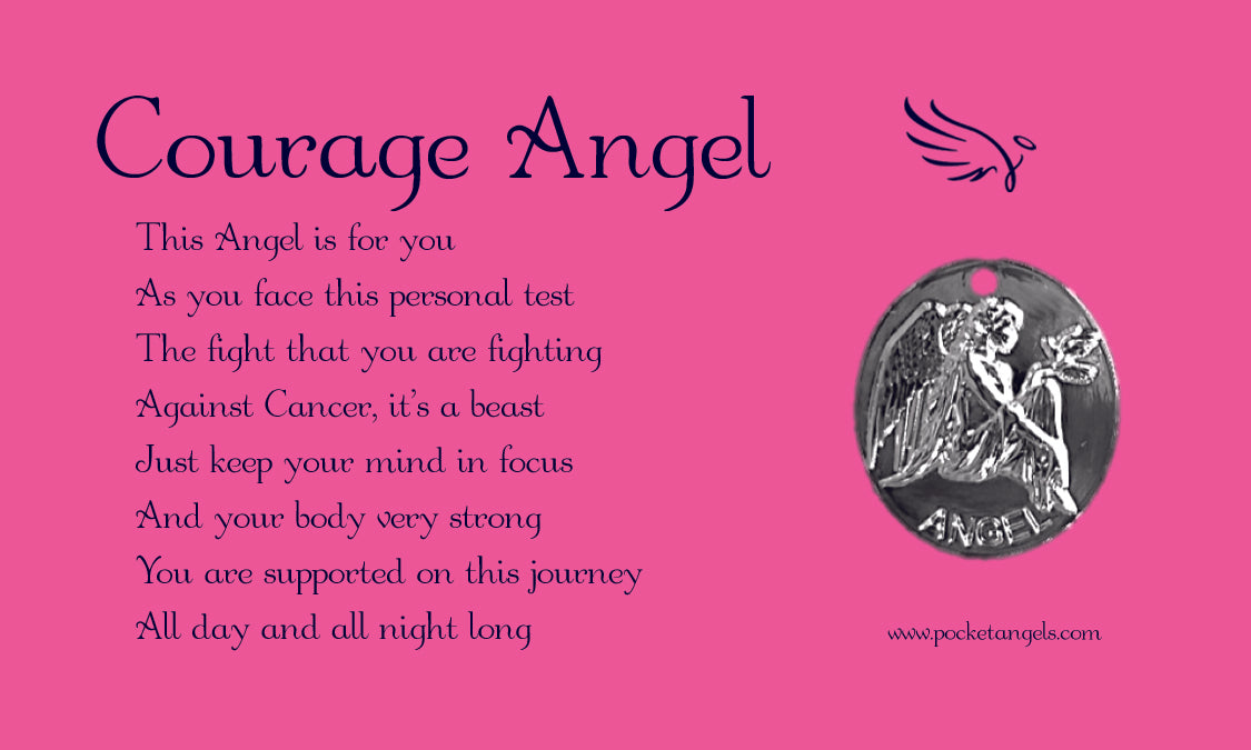 Courage Angel Pink