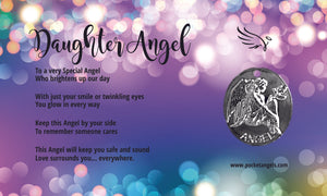 Daughter Angel For Your Pocket