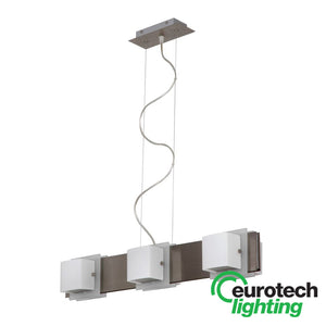 Eurotech LED Triple Living Room Pendant - The Lighting Shop NZ