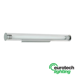 Eurotech Fluorescent Glass Tube Wall Light - The Lighting Shop NZ