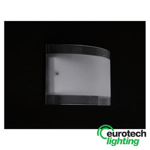 Eurotech Sand-blasted Glass LED Wall Light - The Lighting Shop NZ