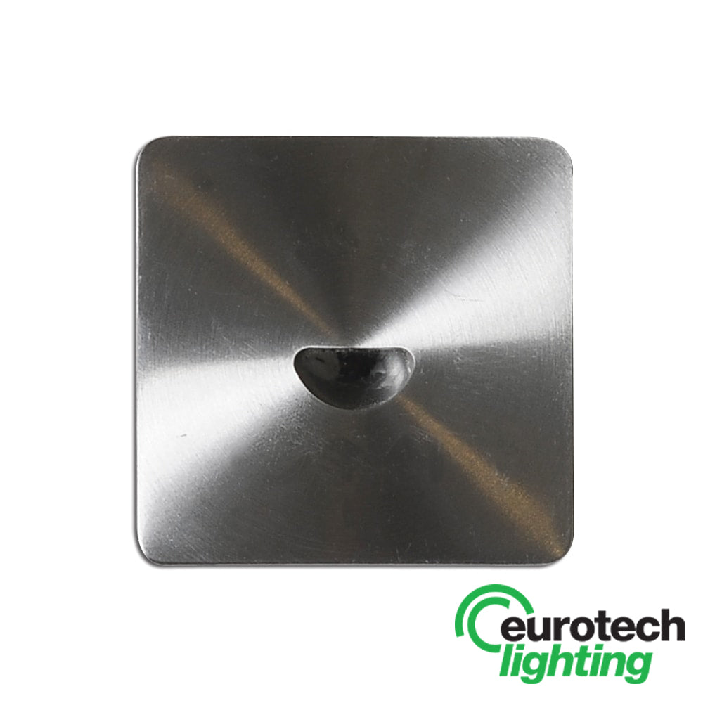 Eurotech Square LED Recessed Wall Light - The Lighting Shop NZ