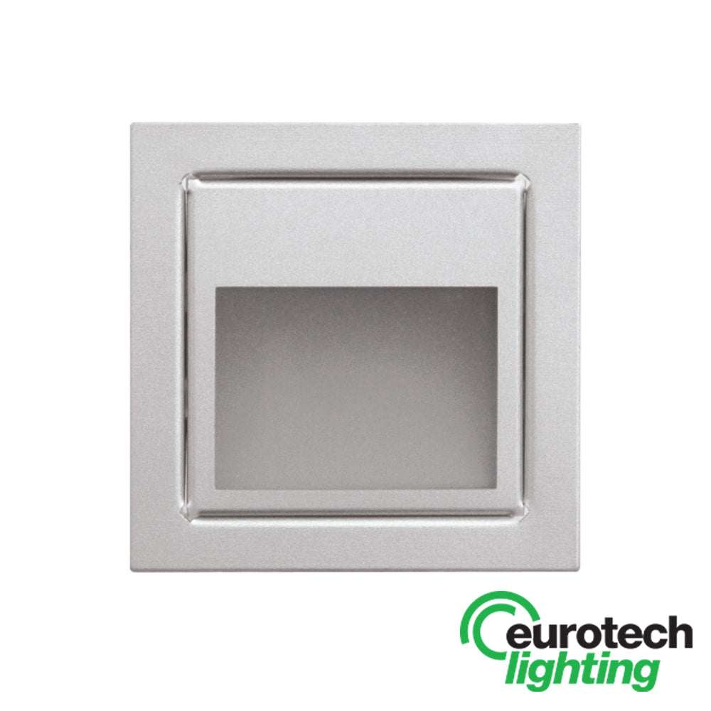 Eurotech Square LED Aluminium Wall Light - The Lighting Shop NZ