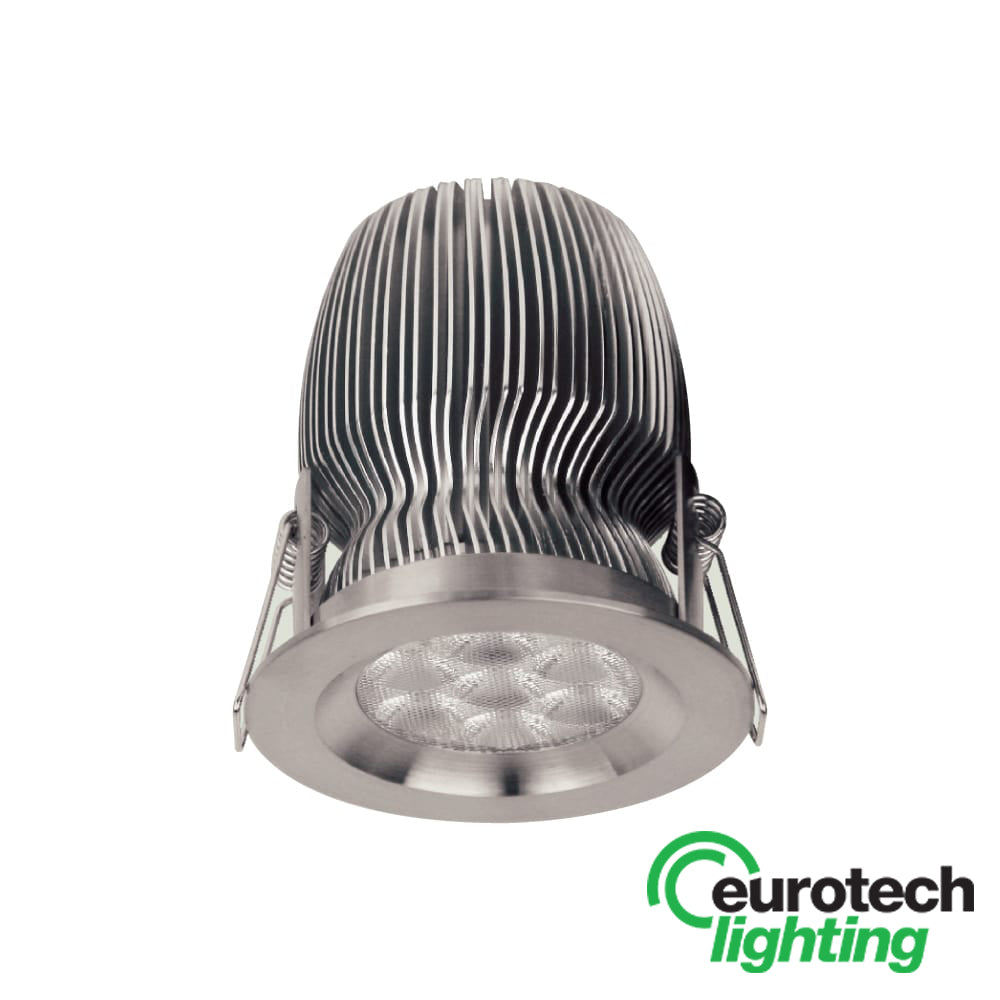 Eurotech Stainless Steel Fixed Downlight - The Lighting Shop NZ