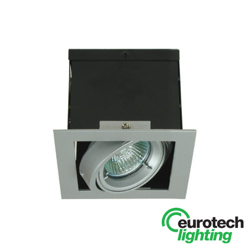 Eurotech Tiltable Square Downlight- LED available