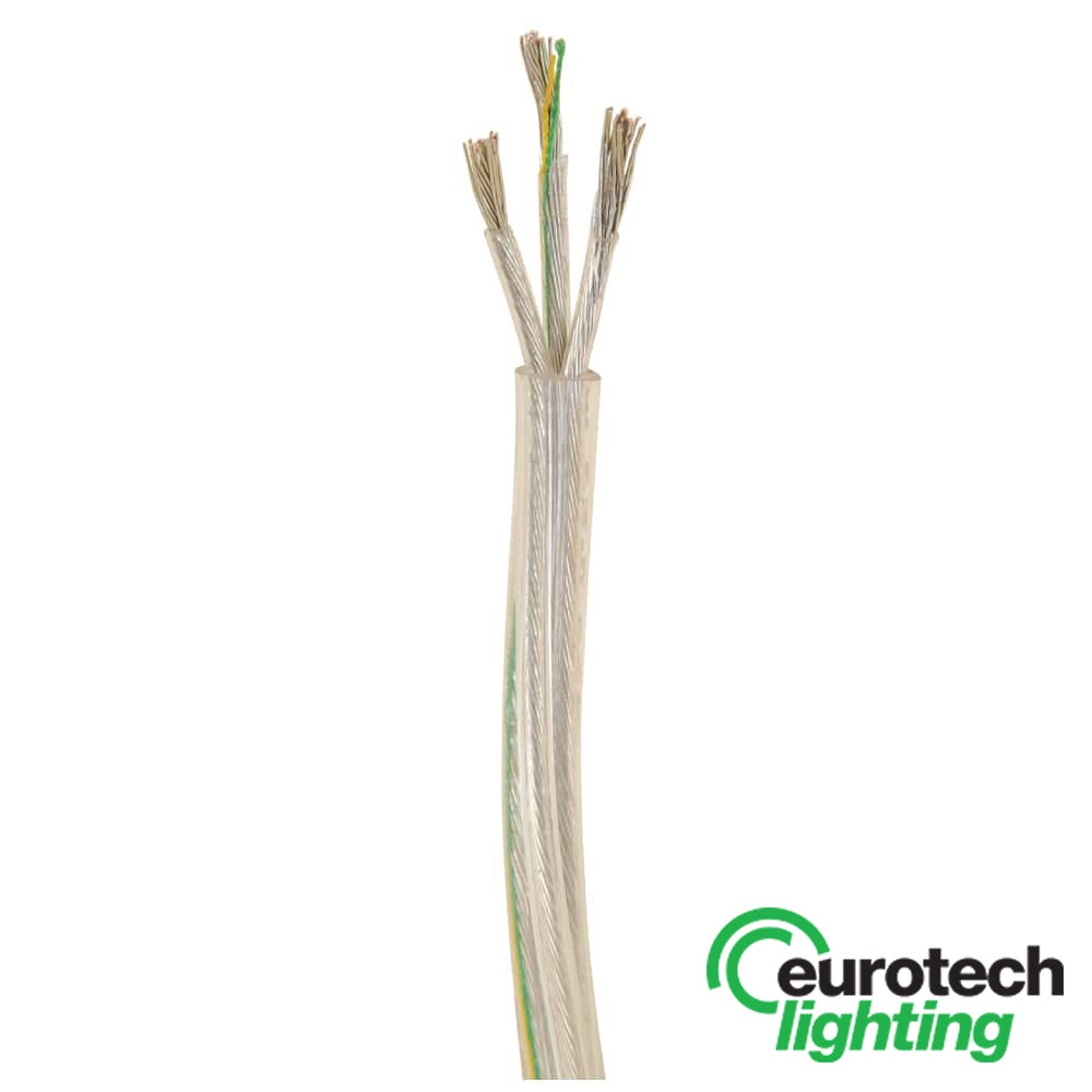 Eurotech Three core pendant lighting cable - The Lighting Shop NZ