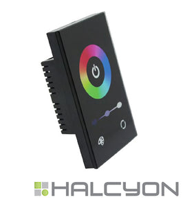 Halcyon LED RGBW Four Colour 12 or 24V Touch Screen Master Controller