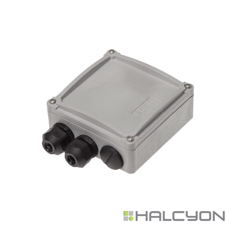 Halcyon LED Constant Current Exterior IP67 C/W Cable Glands